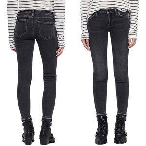 All Saints Mast Ankle Skinny Jeans Washed Black 28